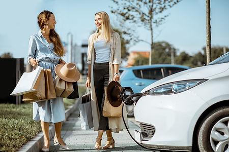 Solutions de recharge électriques Eco-Pi pour commerces