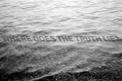 Katelyn Kopenhaver - Where Does The Truth Lie, beach towel