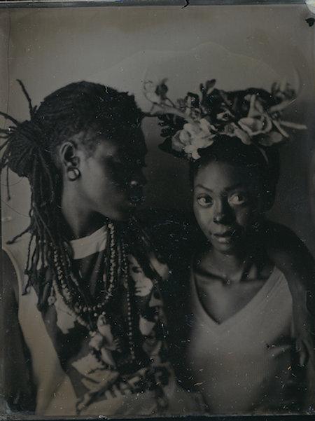 Felicita Maynard, The Couple, giclee print