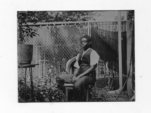 Felicita Maynard, Jean in the Garden, tintype