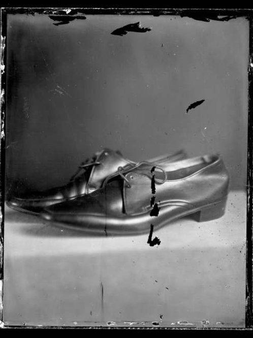 Felicita Maynard, Angelo's Shoes, ambrotype