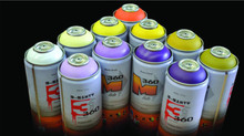 360 spray Paint matte finish