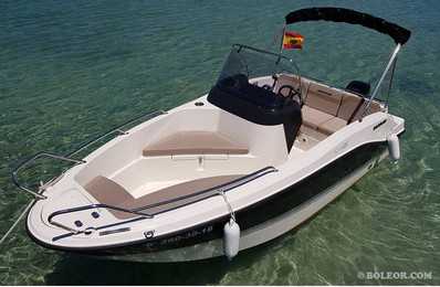 Rent boat without licence | boleor.com/455