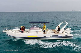 Rent speedboat with licence | boleor.com/900