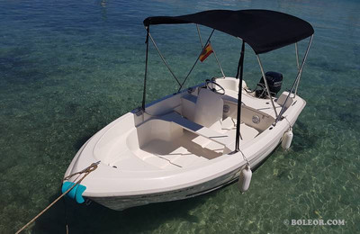 Rent boat without licence | boleor.com/410
