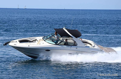 Sea Ray X940 'LORELEI' - speedboat for 12 people, with2x260hp engines, up to 90km/h