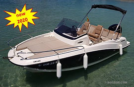 Rent speedboat with licence | boleor.com/605