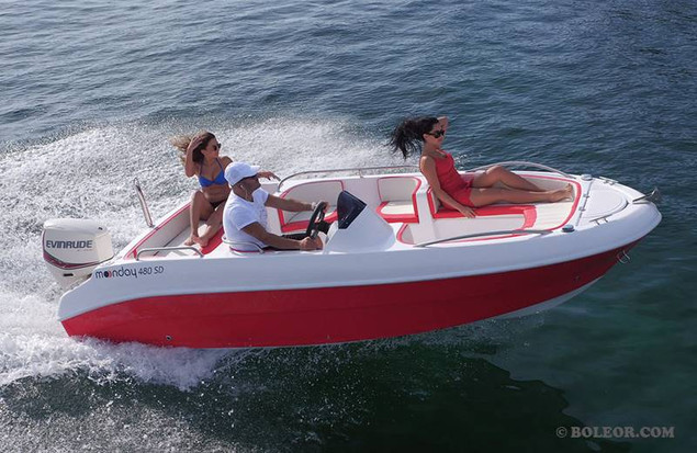 Rent boat without licence | boleor.com/480