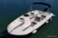 Q600 'ATLAS' - speedboat for 8 people, with 115hp engine, up to 70 km/h