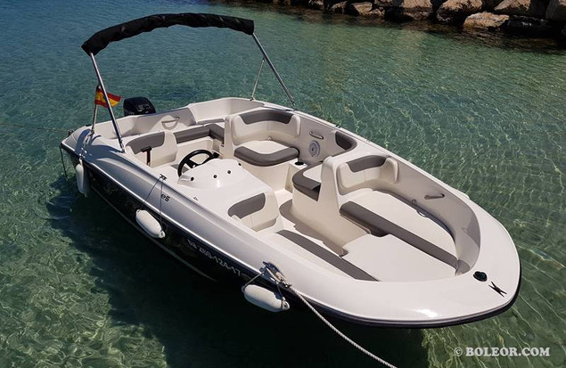 Rent boat without licence | boleor.com/540