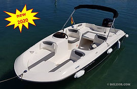 Rent speedboat with licence | boleor.com/600