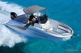 Rent speedboat with licence | boleor.com/770