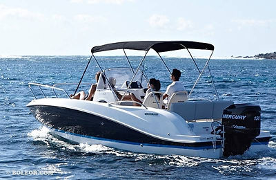 Q605 'HELIOS' - speedboat for 7 people, with 150hp engine, up to 80 km/h