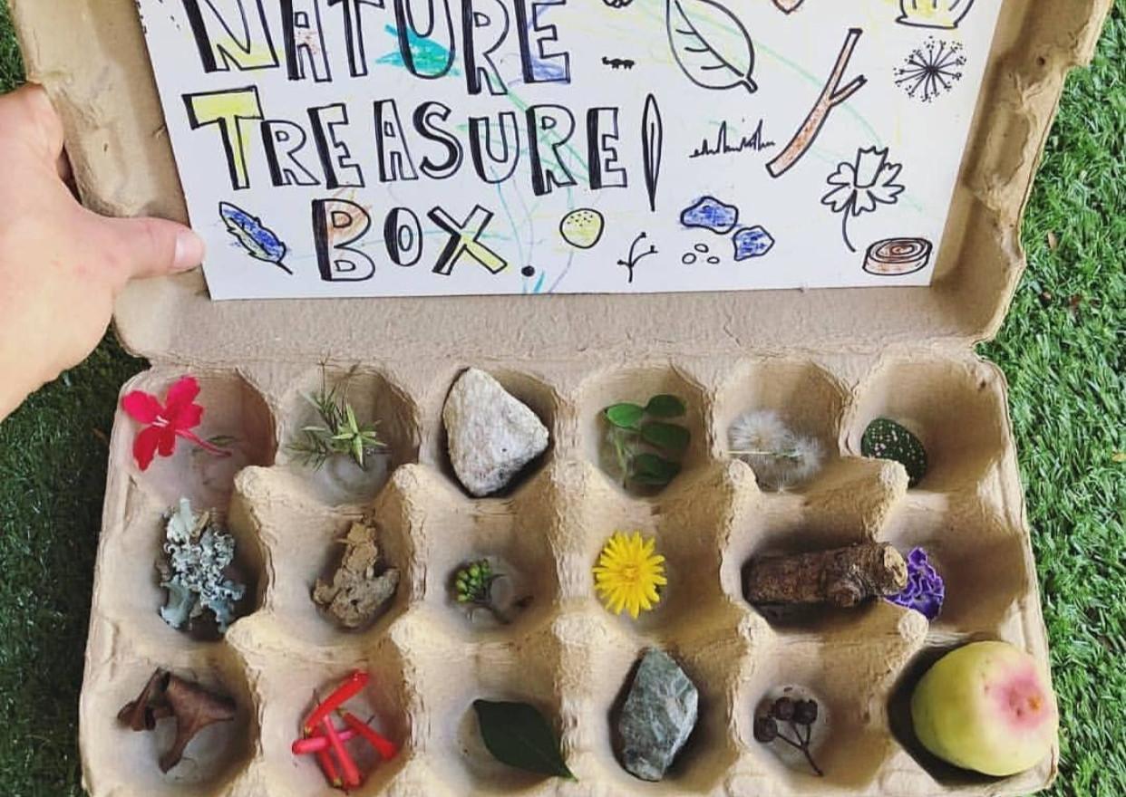 Make a Nature Treasure Box