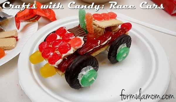 Make your own Wreck it Ralph Candy Cars