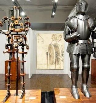 The First Automaton Robot - Da Vinci