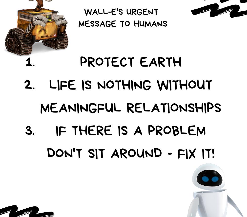 WALL-E'S URGENT MESSAGE