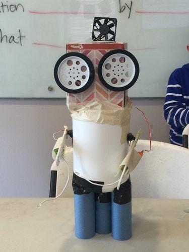 Robotics with littleBits