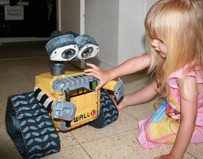 WALL-E Teaches: Reduce, Reuse, Recycle