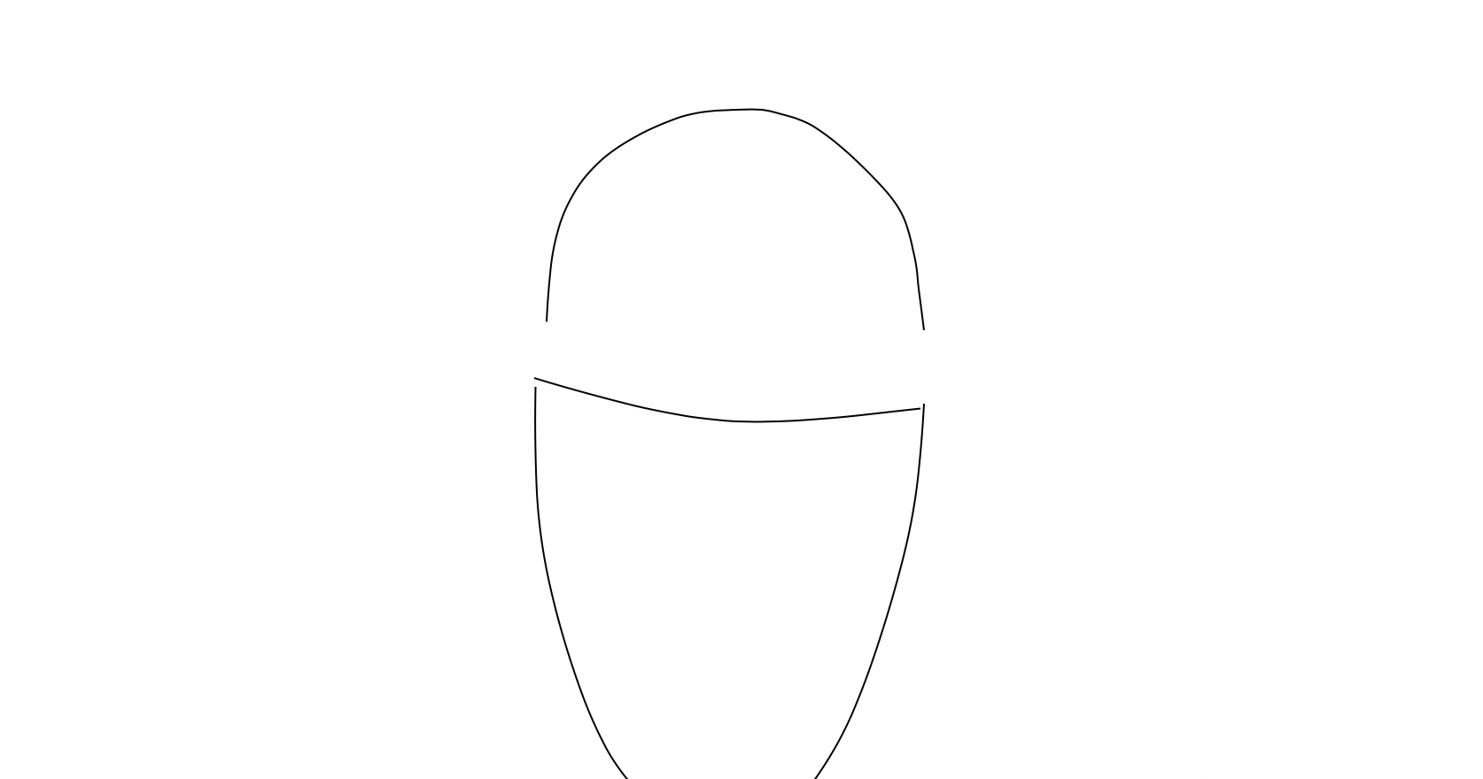 STEP 3 - Create a dome for the head