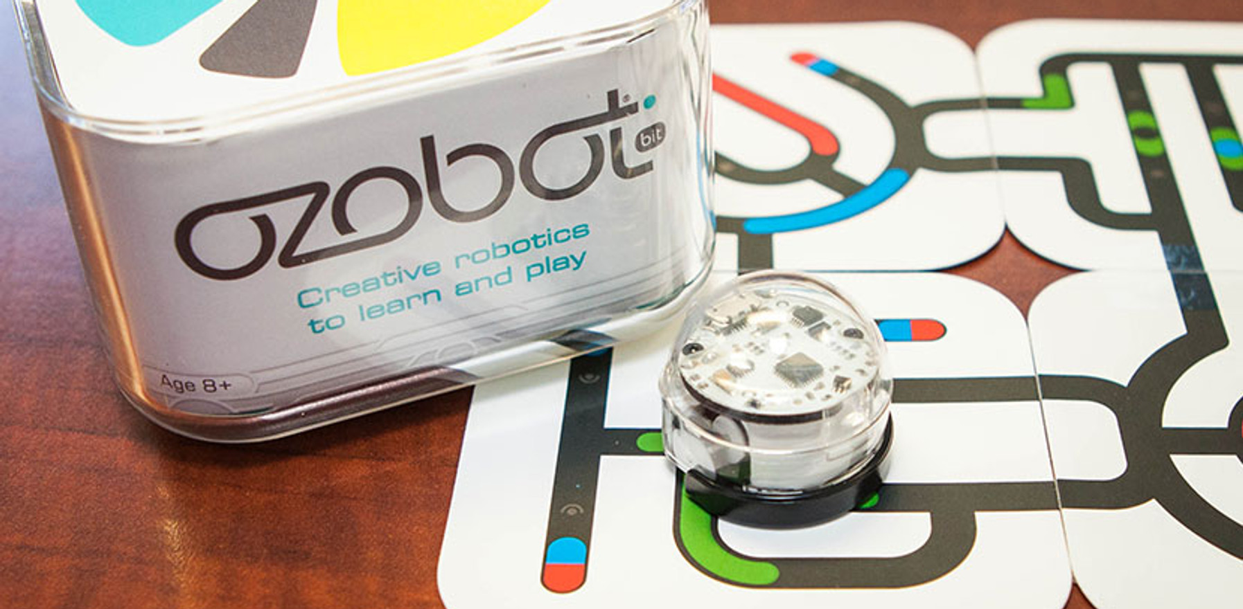 Create your own coding programs using Ozobots