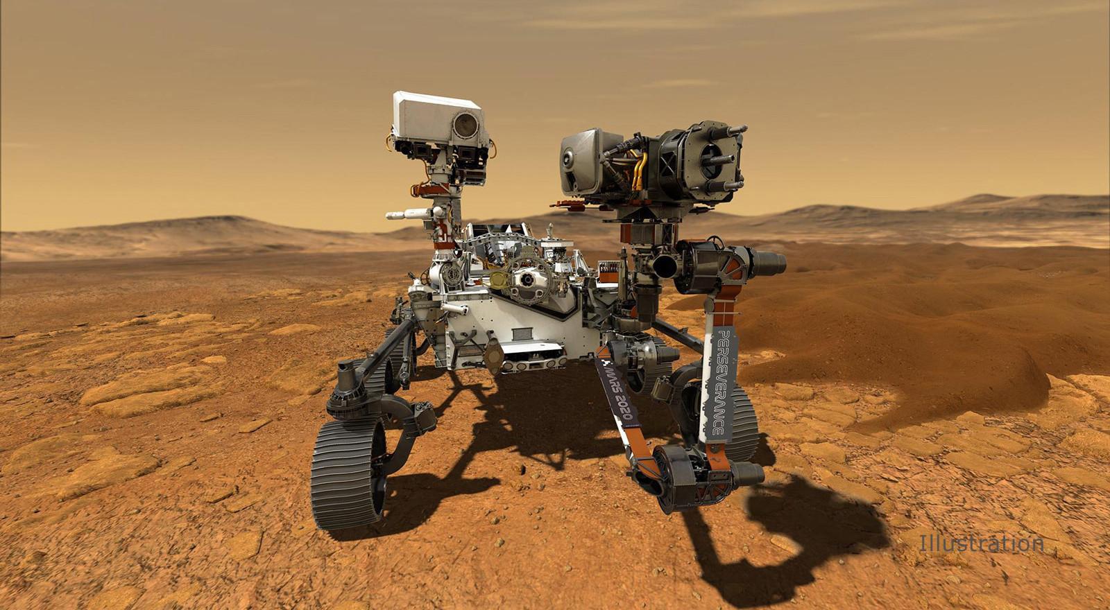 Perseverance Rover Robot