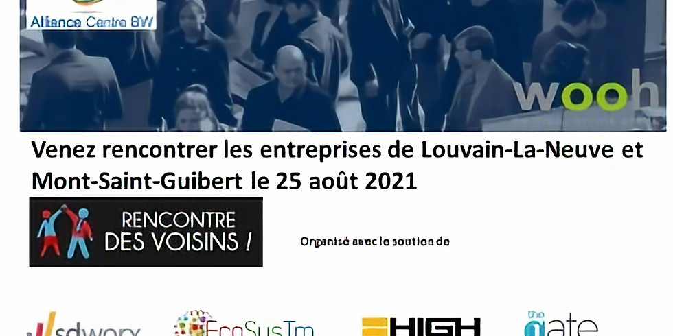 Rencontre des voisins de Louvain-la-Neuve et Mont-St-Guibert