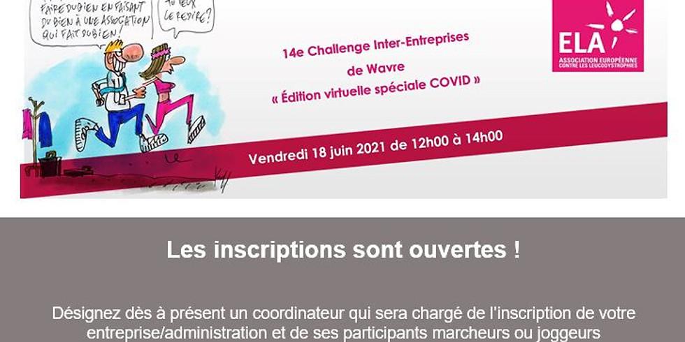 Challenge ELA Wavre - éd. virtuelle