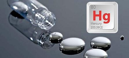Mercury in drinking water