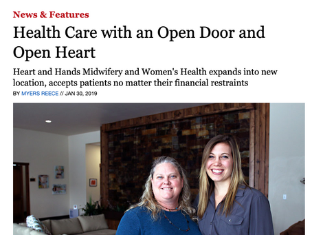 Health Care with an Open Door and Open Heart