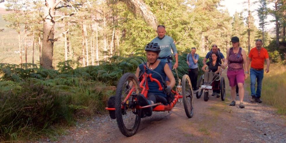 Wheelchair Adventure Race - Glenmore Forest - 2020