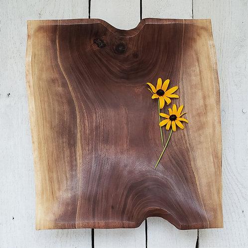 Rectangular Two-Tone Walnut Bowl