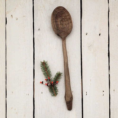 Maple Handcarved Mixing Spoon