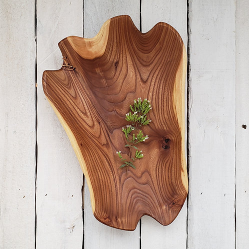 Stitched Small Elm Bowl