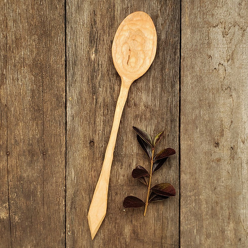 Ash Handcarved Mixing Spoon