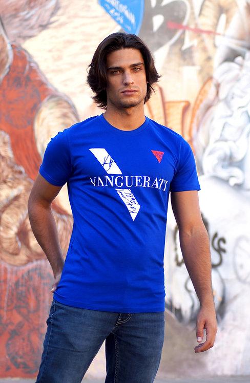 ·VANGUERATI BLUE· ORGANIC T-SHIRT