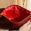 Thumbnail: ·CLASSIC RED-GOLD· LEATHER HANDBAG