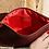Thumbnail: ·CLASSIC BURGUNDY-GOLD· LEATHER HANDBAG