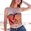 Thumbnail: TOP CORSET DE TELA DE FALLERA de alta costura •VALENCIA MAR DE ORO•