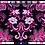 Thumbnail: ·VALENCIA PINK-SILVER B· HANDBAG FALLERA FABRIC & LEATHER