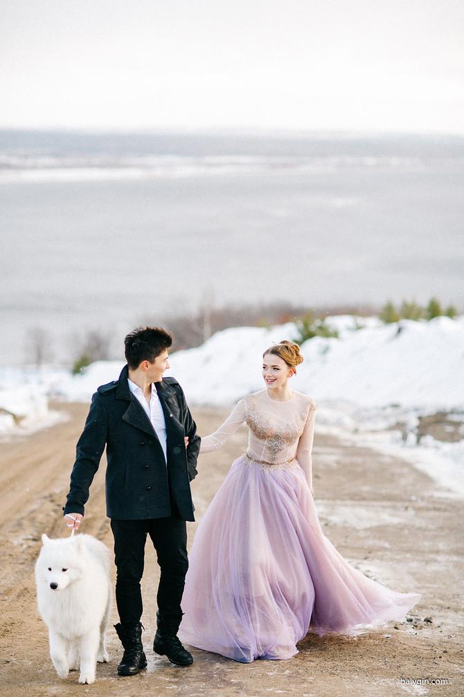 Съемка: свадебное утро в Сидоровых горах