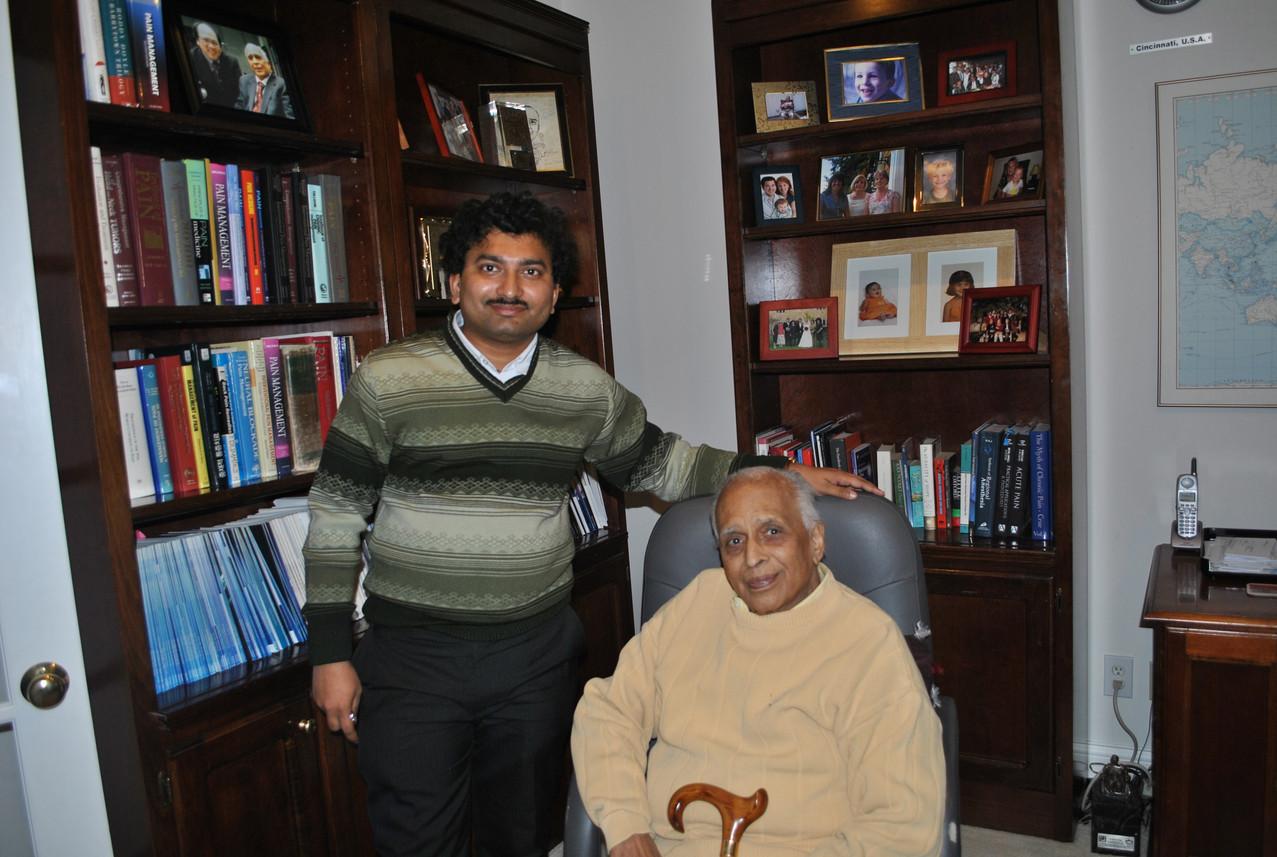 Dr Debjyoti Dutta with Dr Prithvi Raj at Cincinnati USA