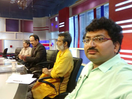 Dr Debjyoti Dutta at the News Time Studio