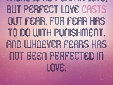 Fear of love.