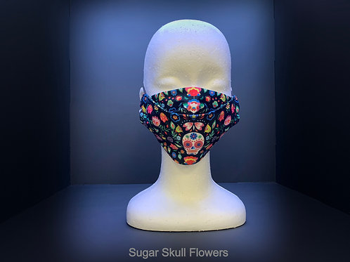 3D FACE MASK - VARIOUS PRINTS