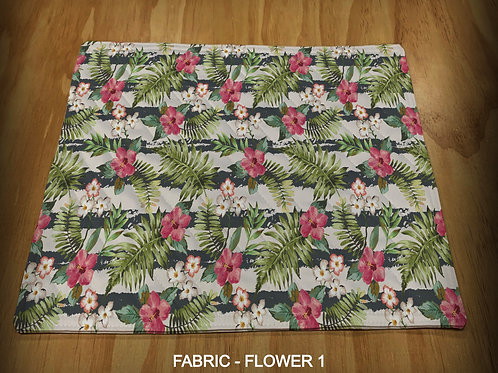 PRINTED PLACEMATS - FLOWER PRINTS