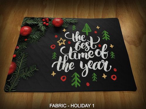 PRINTED PLACEMATS - HOLIDAY PRINTS