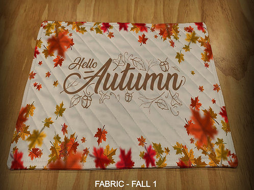 PRINTED PLACEMATS - FALL PRINTS