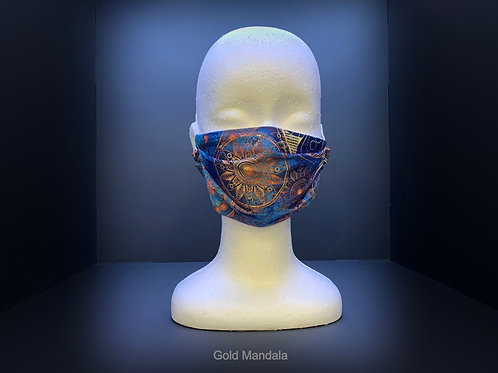 STD. PLEATED FACE MASK - VARIOUS PRINTS