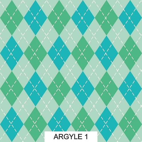 FABRIC PATTERNS - ARGYLE PRINT